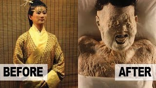 2,000 Year Old 'BEAUTIFUL' Chinese Mummy STILL Has GREAT HAIR
