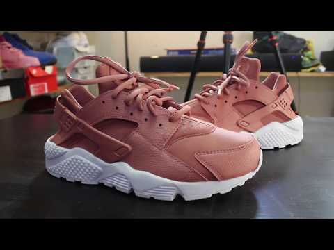 "Custom Nike Huarache ""Dusty Rose""+ Time Lapse"