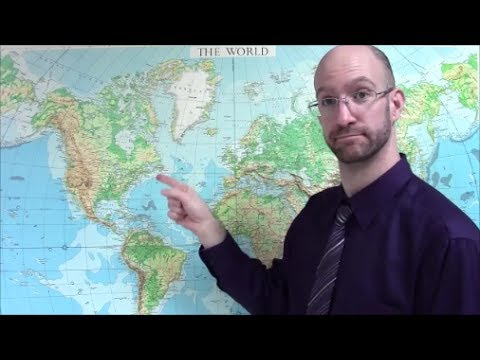 World Continents and Regions in ASL