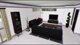 The Sims 3 House : Ultra Modern Home [HD]