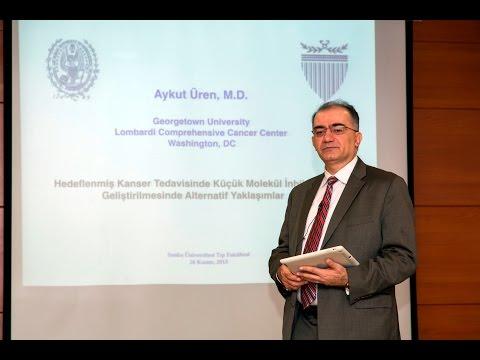 """Prof. Dr. ÜREN, """"Kanser Tedavisinde Küçük Molekül İnhibitörlerinin Geliştirilmesi"""""""