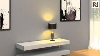 Modern White Floating Tv Unit Vgceparkerm2554 From Vig Furniture