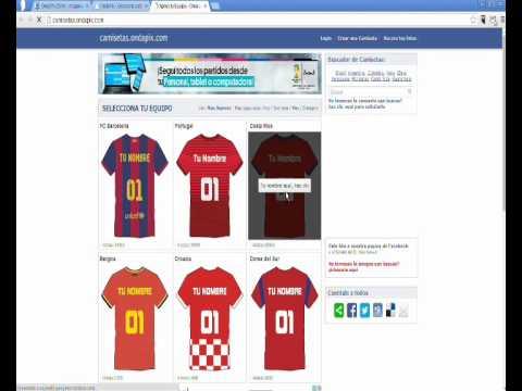 Camisetas Ondapix - Crear camisetas personalizadas con tu nombre online f86194cb1cd48