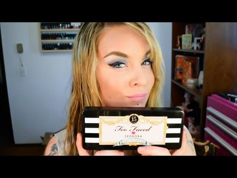First Impression & Look : Too Faced and Sephora 15th Anniversary Palette