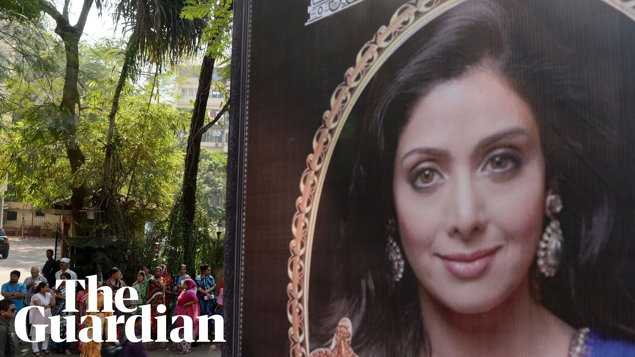 Sridevi: thousands mourn at funeral of actor who redefined