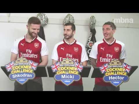 Arsenal Cockney Challenge | #FootballFridays | MBNA
