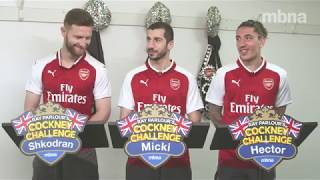 Arsenal Cockney Challenge | #FootballFridays | MBNA