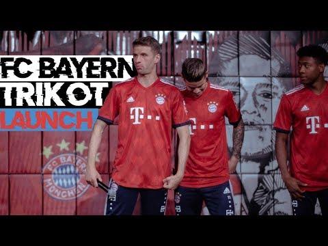 Thomas Müller, James Rodriguez und viele weitere Stars beim Fc Bayern Trikot Launch getroffen
