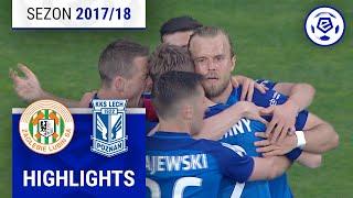 Zagłębie Lubin - Lech Poznań 0:1 [skrót] sezon 2017/18 kolejka 32
