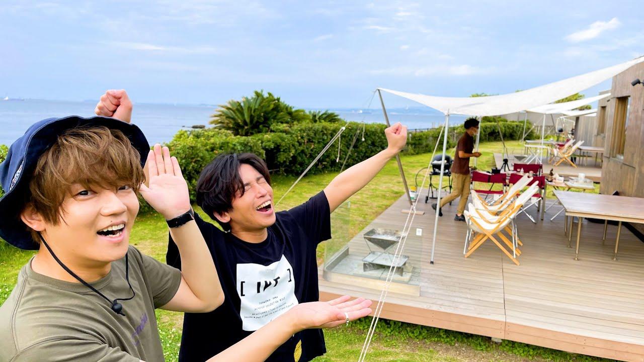 【天国】海の前でグランピングしたら最高すぎてやばい!!!!