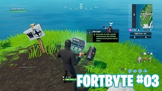 Fortnite Battle Royale ? Fortbyte Challenges How to get the Fortbyte #03
