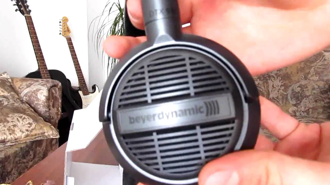 f92d0d335a9 Unboxing Beyerdynamic DTX 910 headphones - YouTube