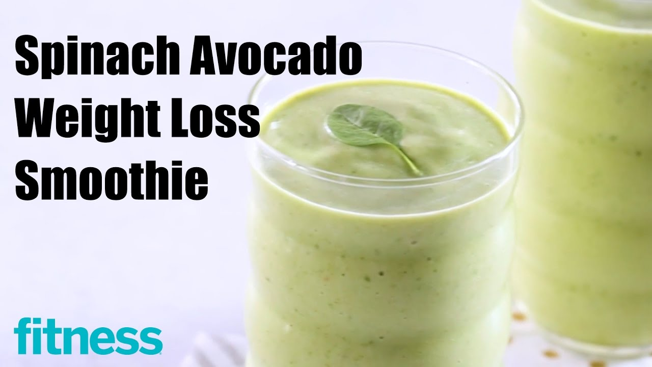 Spinach Avocado Weight Loss Smoothie