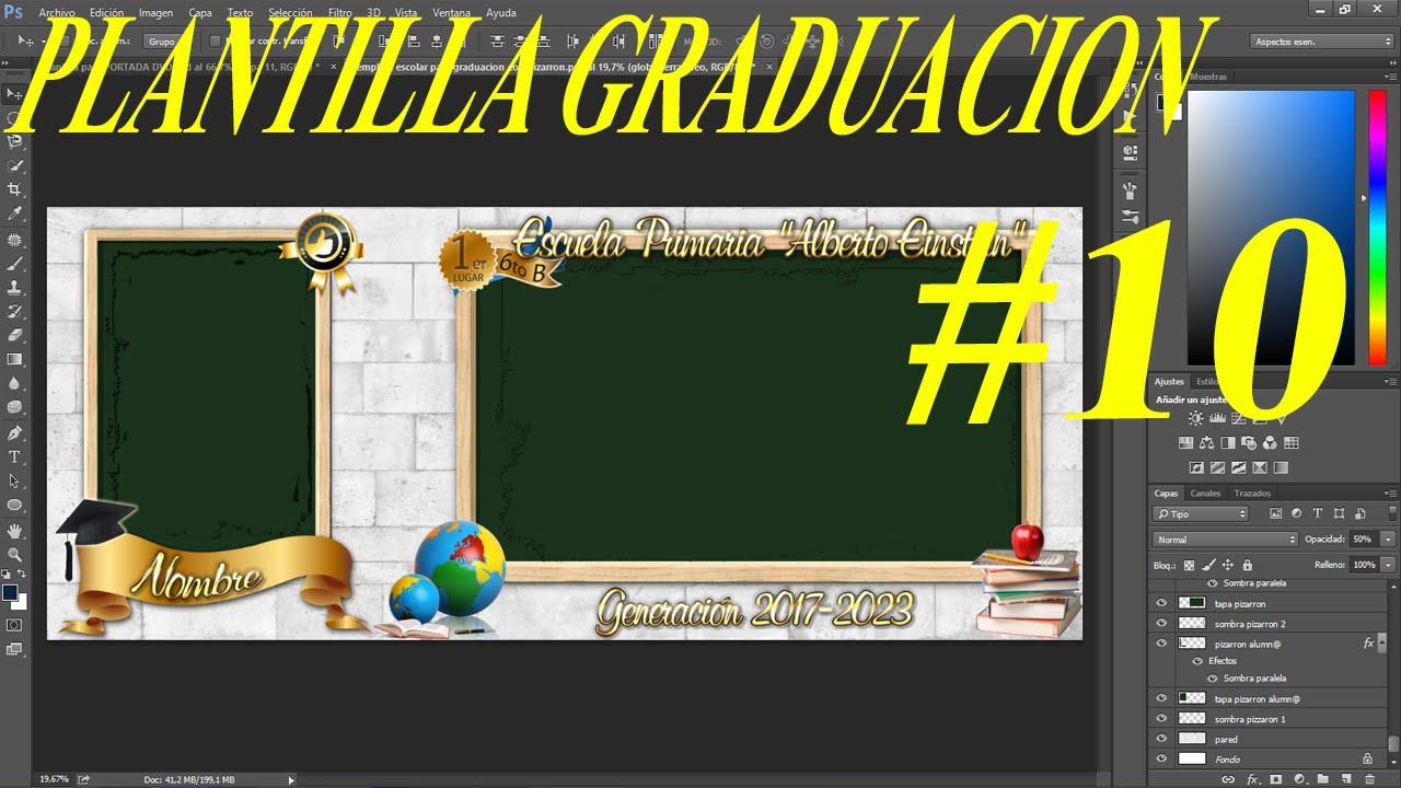Increíble Graduación Invita A Plantillas Gratis Motivo - Colección ...