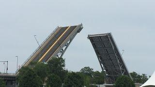 Lloyd Weema Burpees on Charles Berry Bascule Bridge