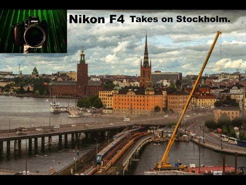 Nikon F4 Takes Stockholm