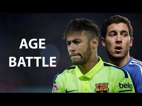 23 Year Old Eden Hazard vs 23 Year Old Neymar