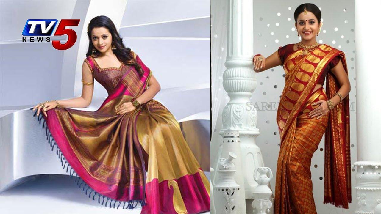 Kanchi Pattu Saree with Design : TV5 News - YouTube