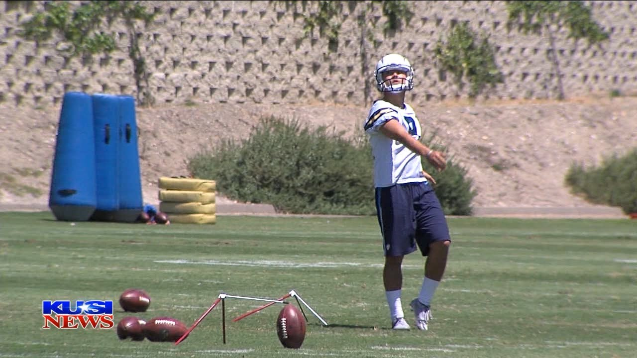 Flipping Kicker Younghoe Koo Fights For Job With L A Chargers Youtube