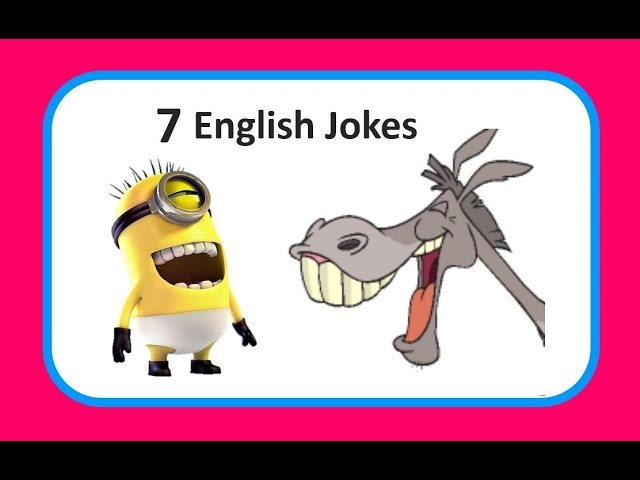 Learn English With 7 Jokes Chistes En Inglés Youtube
