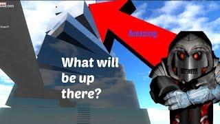 ROBLOX - Percorso dei corridori (CLIMBING THE HIGHEST BUILDING!!)