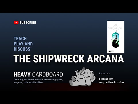 The Shipwreck Arcana   Board Game   BoardGameGeek