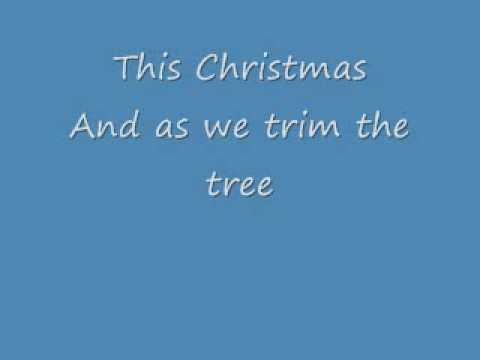 This Christmas by Chris Brown Lyrics - YouTube