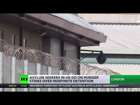 Massive hunger strike in UK immigration detention center, inmates live-tweet