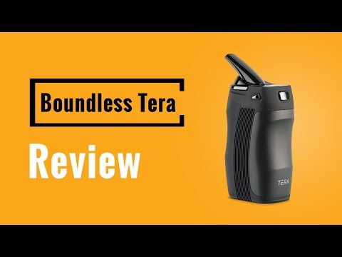 Boundless Tera Portable Vaporizer Review – Vapesterdam