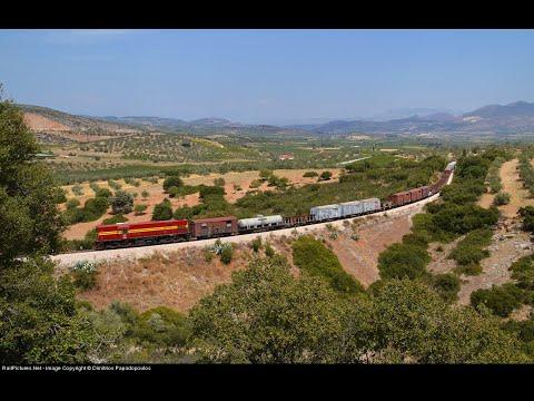 ALCo DL-537 on freight train to Tripoli