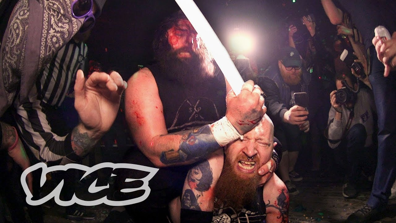 The Hardcore World of Deathmatch Wrestling