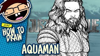 How to Draw AQUAMAN (Justice League) | Narrated Easy Step-by-Step Tutorial