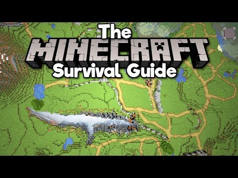 How To Plan Out A City! ▫ The Minecraft Survival Guide (Tutorial Lets Play) [Part 57] thumbnail