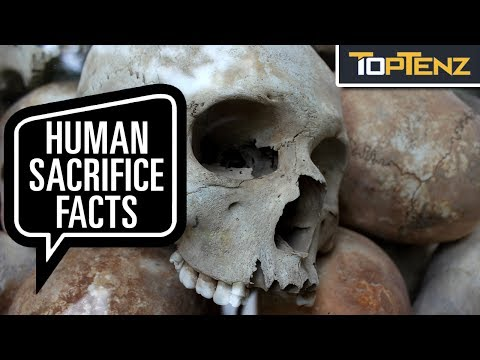 Top 10 Recently Discovered GRUESOME Cases of Ancient Human SACRIFICE