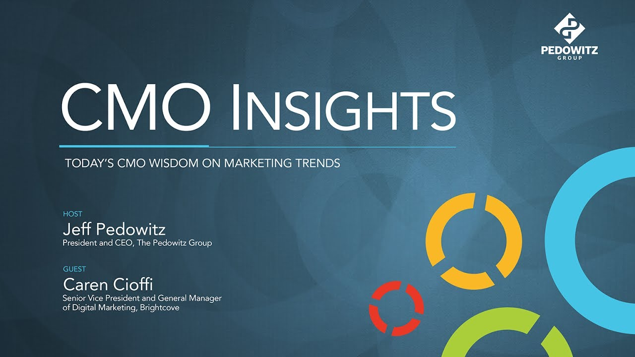 CMO Insights: Caren Cioffi