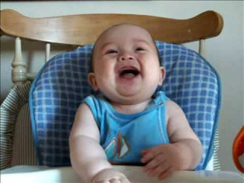 aydan's funny laugh - he's a happy baby! best baby laugh!