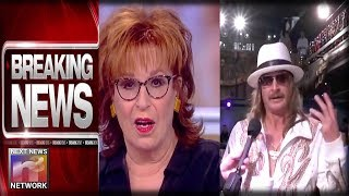 BREAKING: After Kid Rock Stomps On Joy Behar – 'View' Comes At Him With Offer They'll Really Regret