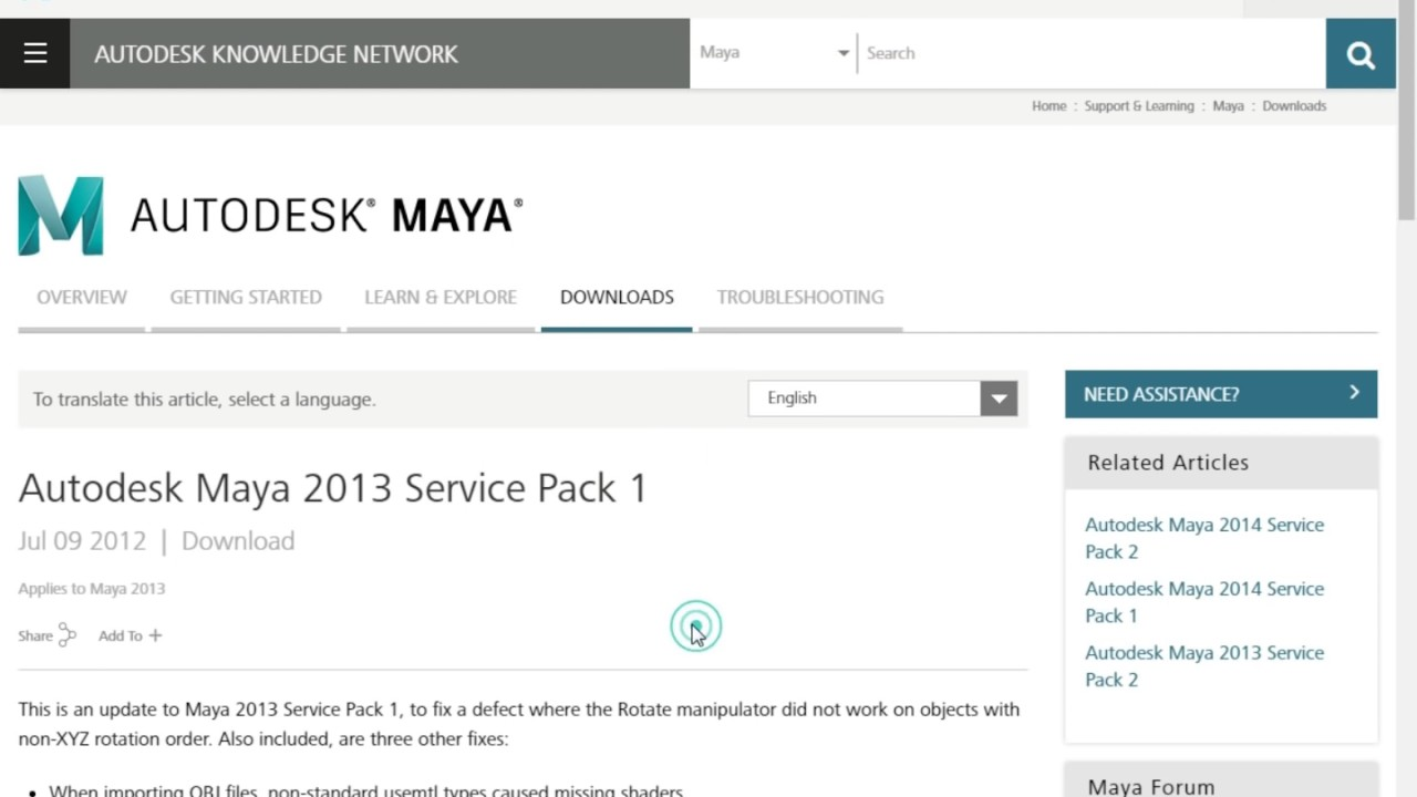 Autodesk maya download (2019 latest) for windows 10, 8, 7.