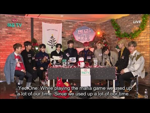 [ENG SUB] Pentagon - Karaoke & Mukbang (Heyo TV: Private Life of Pentagon S3 #1) [3/3] (7 Dec 2017)