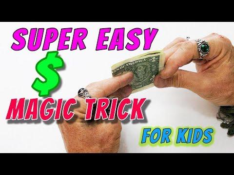 UPSIDE Down  DOLLAR Trick! FUN Magic Trick Made Easy