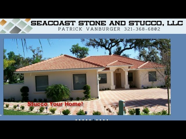 Stucco Repair - Added Stucco Bands in Titusville FL - 321-368-6802
