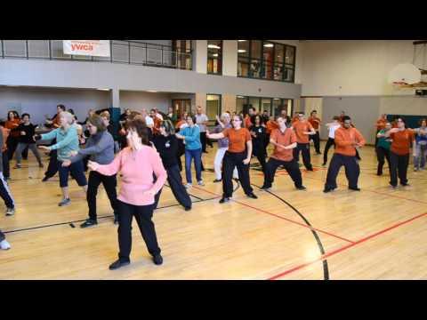 World Tai Chi Day 2016 Yang Moving 8 Movement Form
