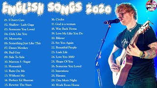 Music Hits ⌛️ Top 30 Popular Songs Playlist 2020 ⌛️ Best English Music Collection 2020