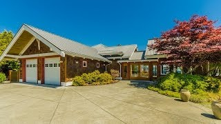 Luxury Oceanfront Home For Sale In Campbell River  British Columbia