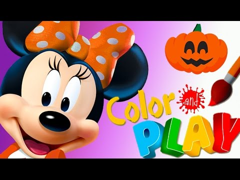 Minnie Mouse Color And Play Minnie S Garden Fall