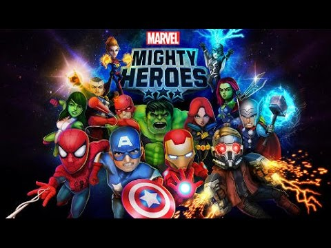 Marvel Mighty Heroes / Action RPG / Videos Games for Children /Android HD