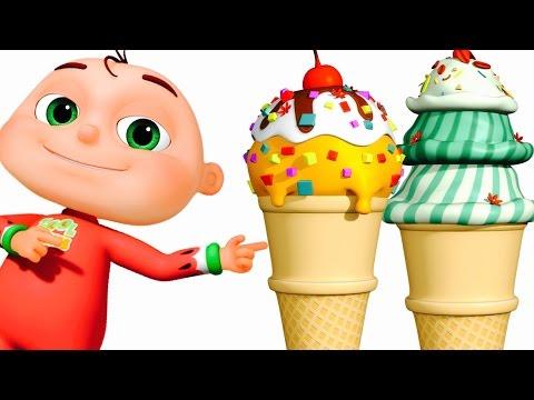 Ice Cream Song | Zool Babies Fun Songs | Nursery Rhymes Collection