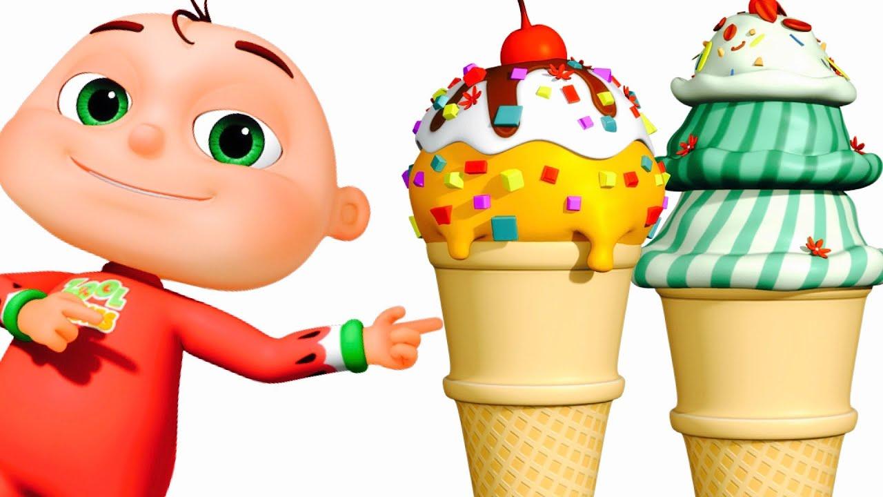 Ice Cream Song | Zool Babies Fun Songs | Nursery Rhymes Collection ...