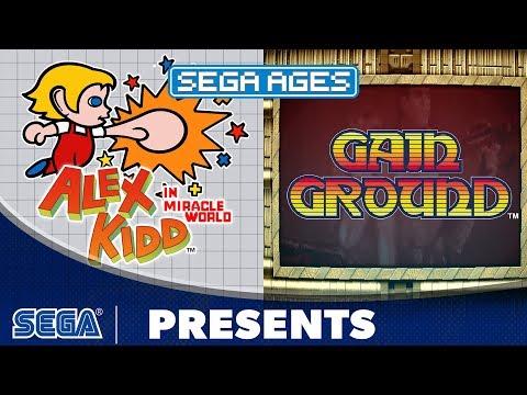 SEGA AGES Alex Kidd & Gain Ground | Launch Trailer