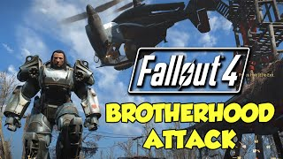 Brotherhood Attack Fallout 4 Adventures.